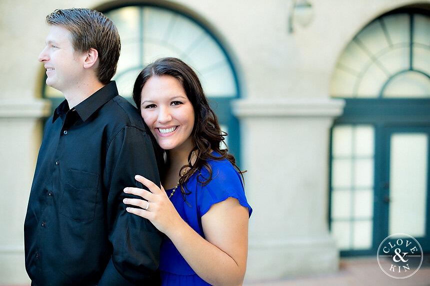 Balboa Park Engagement | Logan & Taylor