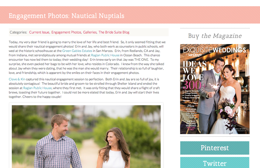 Featured: The Bride Suite | Shelter Island Engagement