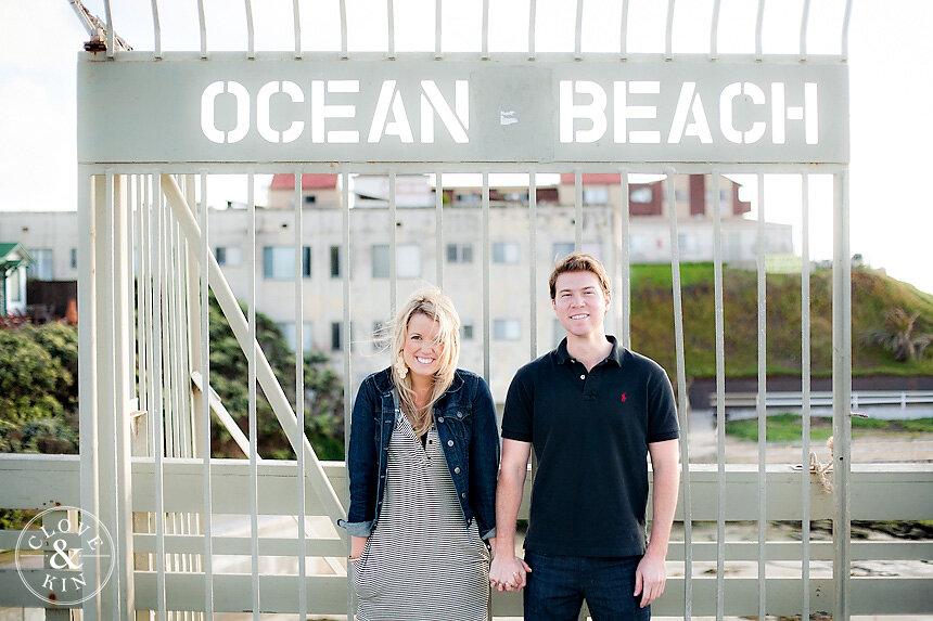 Ocean Beach Engagement | Mark & Shelby
