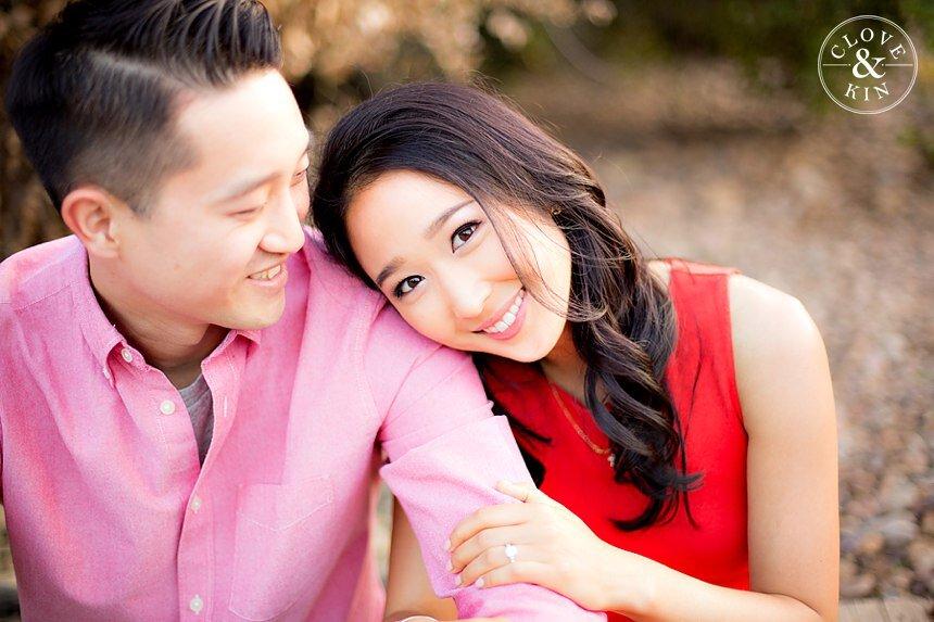 Marian Bear Park Engagement | Christine & Daniel