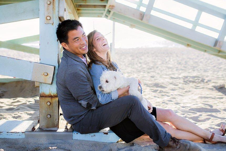 Manhattan Beach Engagement | Alissa & Oliver