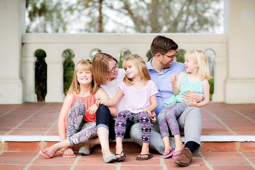 Presidio Park Family Portraits | The Leonard Family