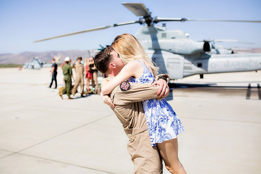 Military Homecoming | Kristin & Chase