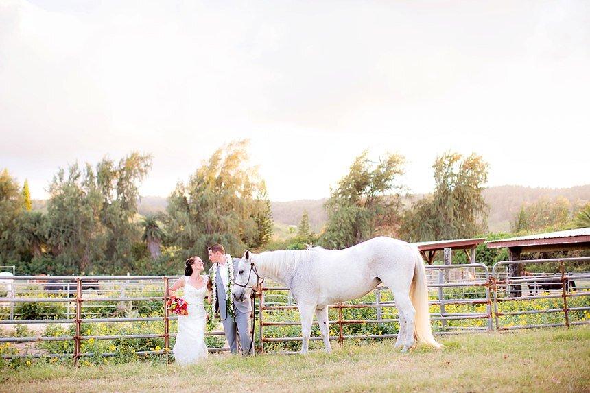 North Shore, Oahu Wedding | B.J. & Mary