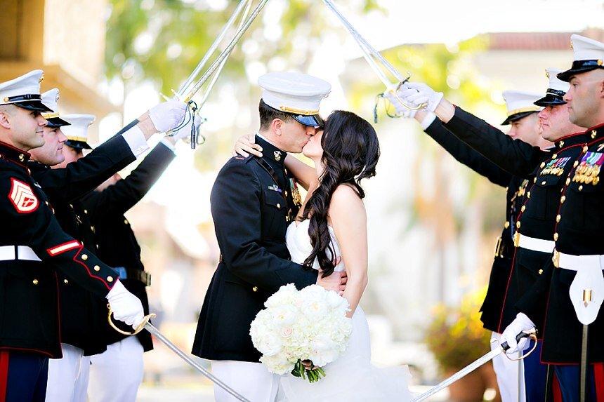 Santa Barbara Courthouse Wedding | Stephanie & Amir