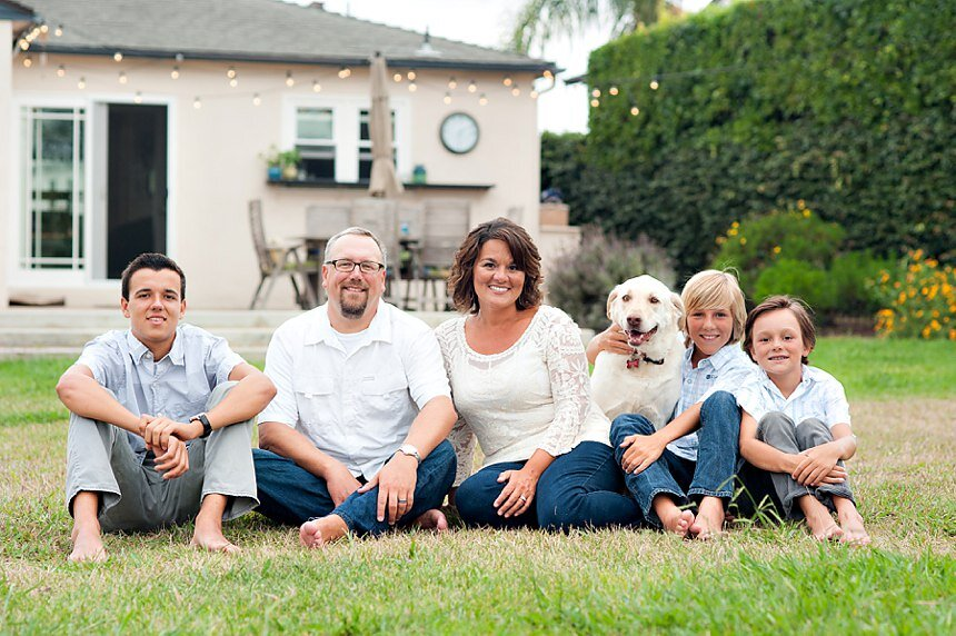 Point Loma Family Portrait Session | The Kessler Family