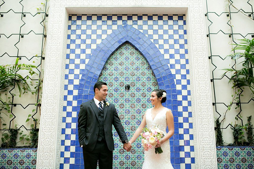 Canary Hotel Wedding | Mireya & Ryan