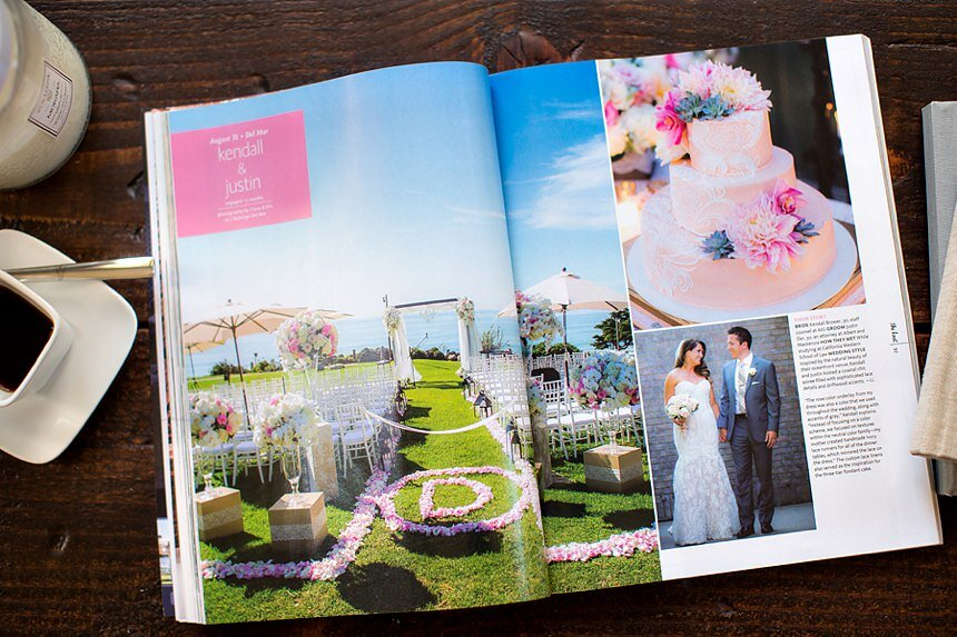 Featured: The Knot Southern California | L'Auberge Del Mar Wedding