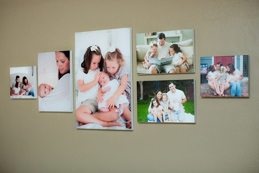 Inspiring Family Giveaway Canvas Collection | The Bisant Family