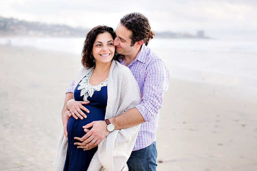 La Jolla Maternity Session| The Xenakis Family