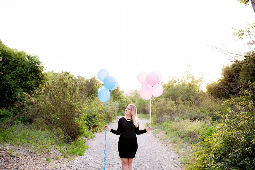 Marian Bear Park Gender Reveal | The Morzenti Family