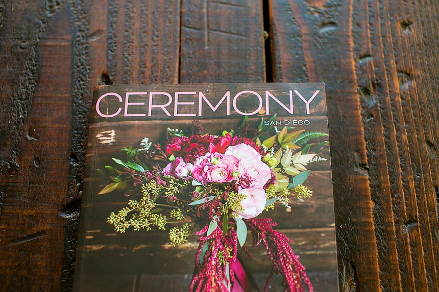 Featured: Ceremony Magazine | Adorations and Inspirations