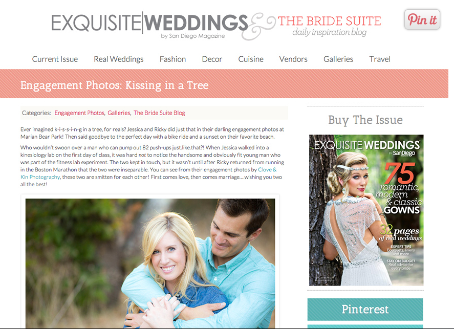Featured: The Bride Suite | Marian Bear Park Engagement
