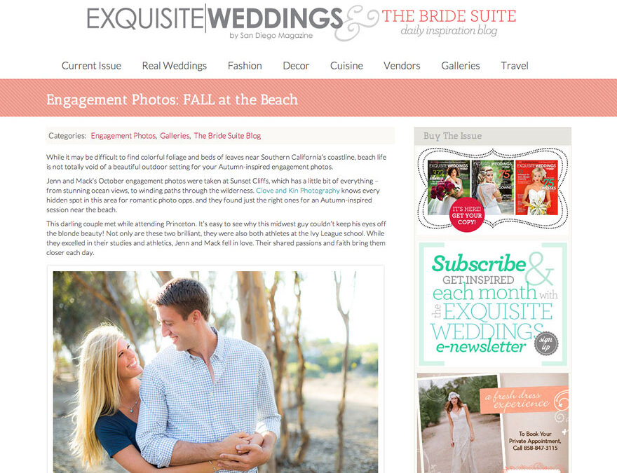 Featured: The Bride Suite | Sunset Cliffs Engagement