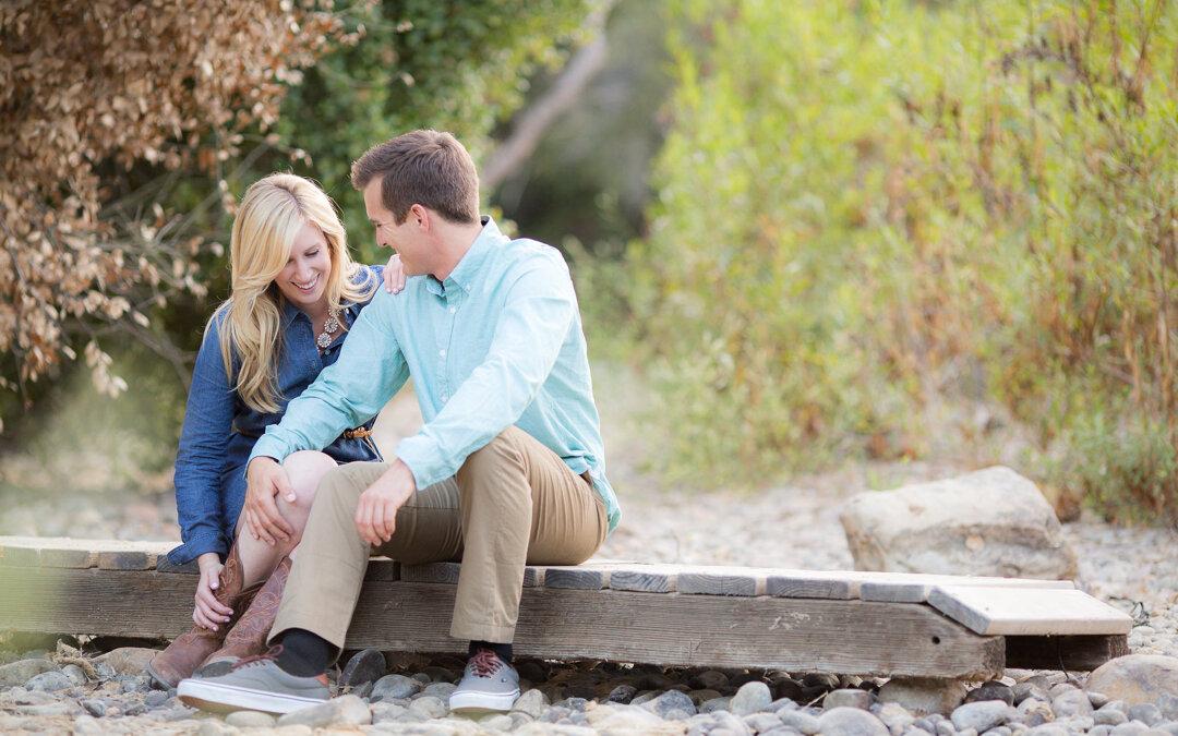 Marian Bear Park Engagement | Jessica & Ricky
