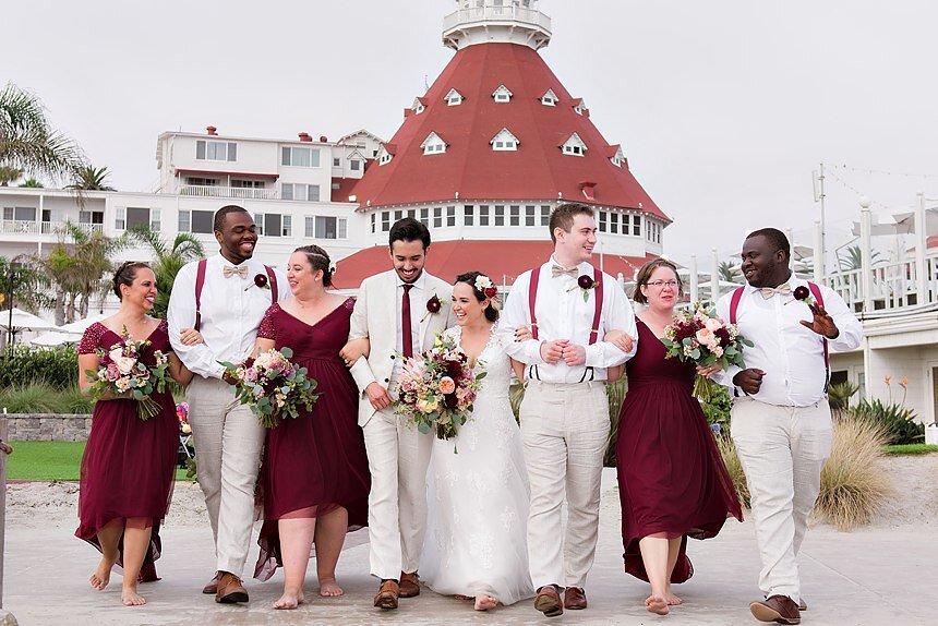 Hotel del Coronado Wedding | Calli & Raul