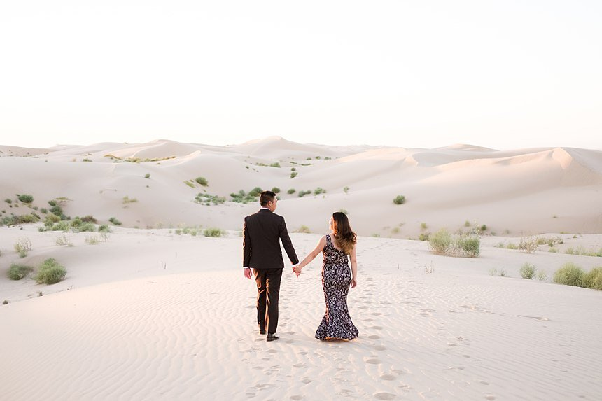 Imperial Sand Dunes Engagement | Mike & Ellen