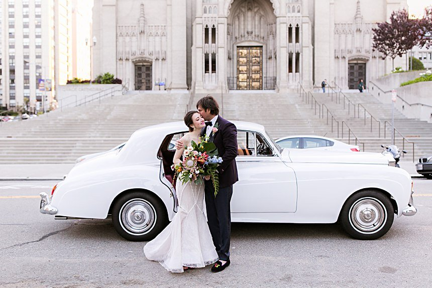 Grace Cathedral Wedding | Parker & Cassandra