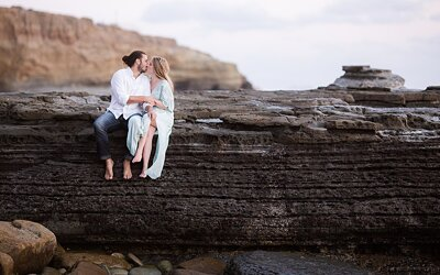 Sunset Cliffs Engagement | Jake & Sarah