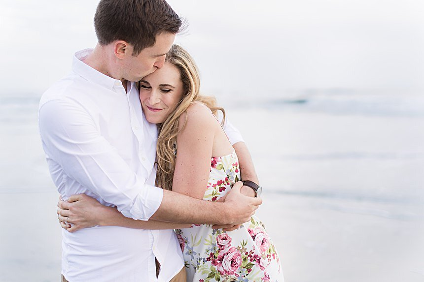Cardiff-by-the-Sea Engagement | Andrew & Jenny