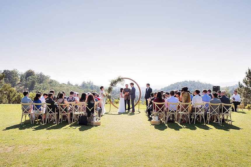 Sacred Mountain Julian Wedding | Doris & Jon