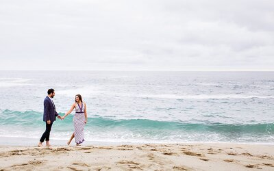 Laguna Beach Engagement | Steven & Rose
