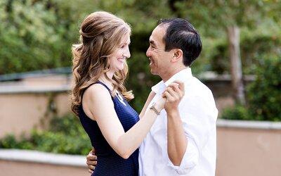 Balboa Park Engagement   Rey & Charissa