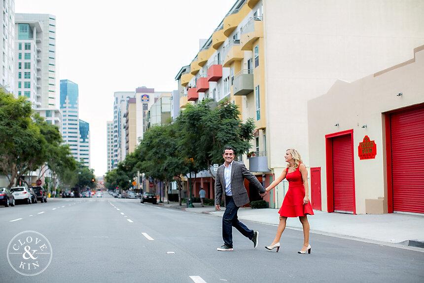 Little Italy Engagement | Danielle & Joseph