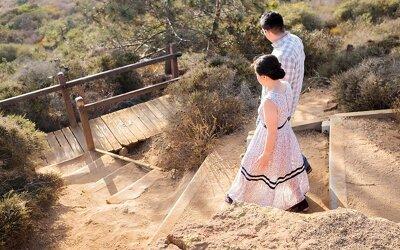 Torrey Pines Engagement   Juan & Flora