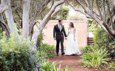 Rancho Valencia Wedding   Gabe & Siobhan