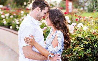 Balboa Park Engagement | Joe & Nikki