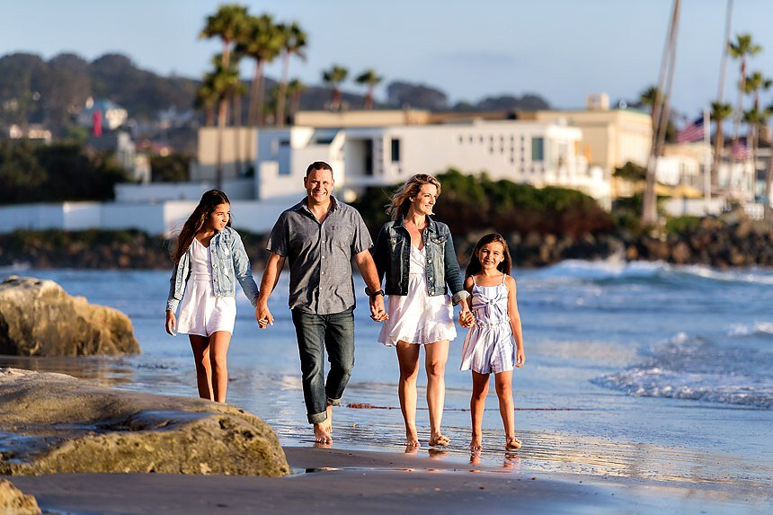 Del Mar Beach Family Portraits | The Toplitz Family