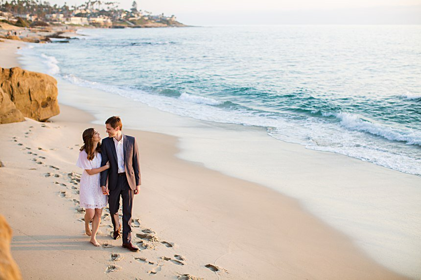 Scripps Seaside Forum Engagement | Chris & Tara